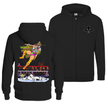 Load image into Gallery viewer, Macho Mando - Zip Hoodie (Front & Back Print)