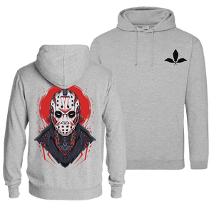 Mecha Jason - Pull Over Hoodie (Front & Back Print)