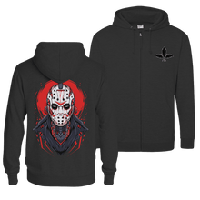 Load image into Gallery viewer, Mecha Jason - Zip Hoodie (Front & Back Print)