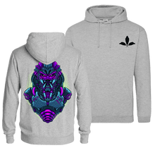 Load image into Gallery viewer, Mecha Predator V1 Retro - Pull Over Hoodie (Front & Back Print)