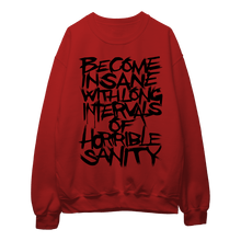 Load image into Gallery viewer, Poe's Insanity (Black Print) - Sweatshirt