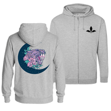 Load image into Gallery viewer, Saber-Toothed Moon - Zip Hoodie (Front & Back Print)