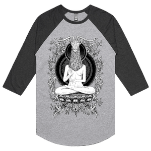 Temple - 3/4 Sleeve Raglan