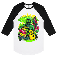 Load image into Gallery viewer, Toxic Rats - 3/4 Sleeve Raglan