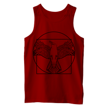 Load image into Gallery viewer, Vitruvian Crow I (Black Print) - Vest