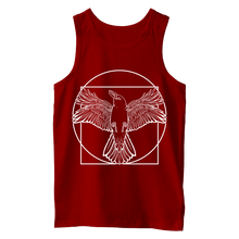 Load image into Gallery viewer, Vitruvian Crow I (White Print) - Vest