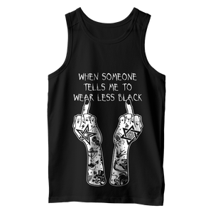 Wear Less Black...? - Vest