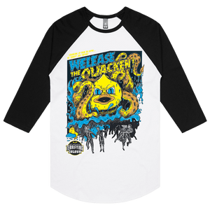 Welease The Quacken - 3/4 Sleeve Raglan