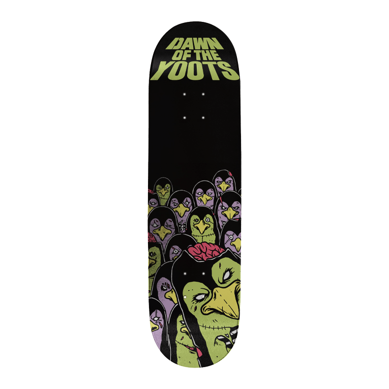 Dawn of the Yoots - Skateboard Vert Deck