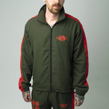 Load image into Gallery viewer, Yatagarasu Tracksuit - Jacket (Red and Green)