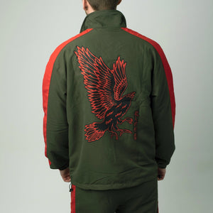 Yatagarasu Tracksuit - Jacket (red/green)