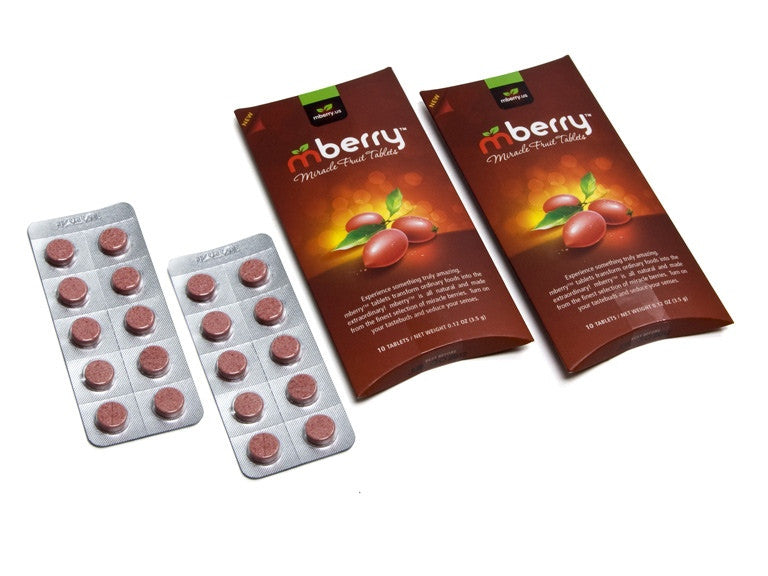 Mberry Are Not the Cheapest for Miracle Berry Tablets
