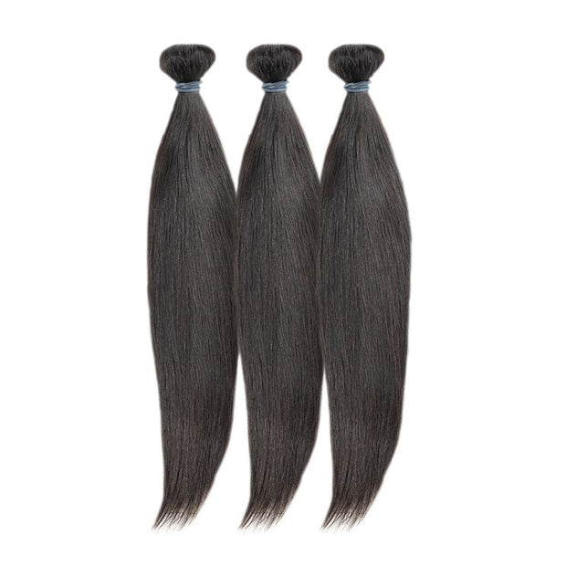 "12"" 14"" 16 Virgin Brazilian Straight Bundle Deal - True Glory Hair"