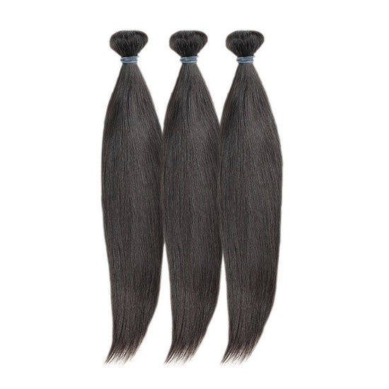 "16"" 18"" 20"" Virgin Brazilian Straight Bundle Deal - True Glory Hair"
