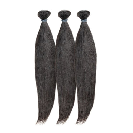 "14"" 16"" 18"" Virgin Brazilian Straight Bundle Deal - True Glory Hair"