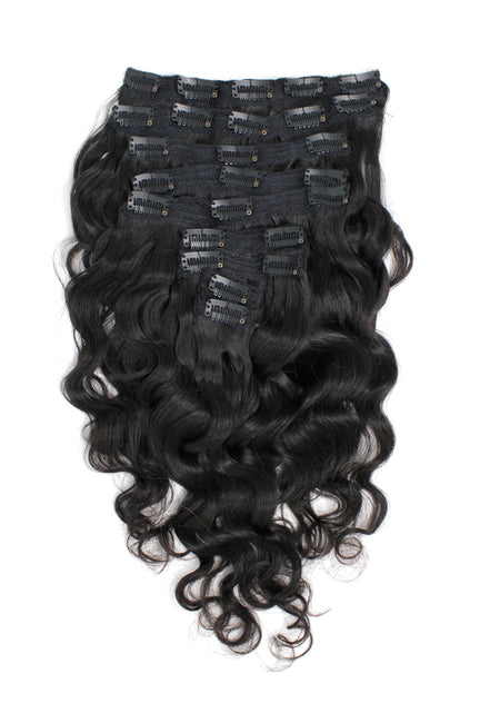Virgin Brazilian Body Wave Clip-Ins - True Glory Hair