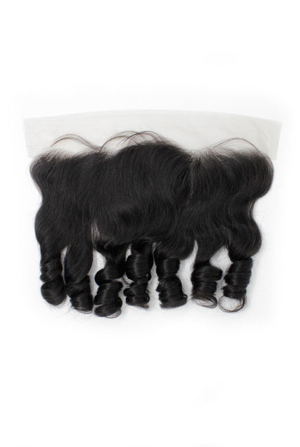 Virgin Brazilian Loose Wave Lace Frontal - True Glory Hair
