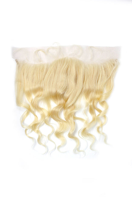Virgin Brazilian 613 Blonde Body Wave Lace Frontal - True Glory Hair