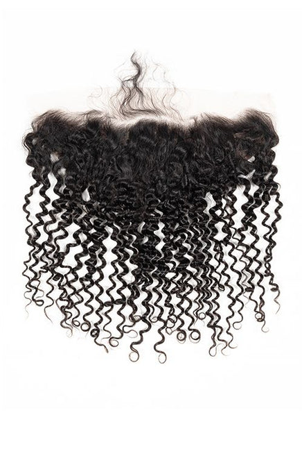 Virgin Brazilian Curly Lace Frontal - True Glory Hair