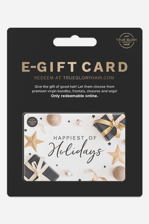 Holiday E-Gift Card - True Glory Hair