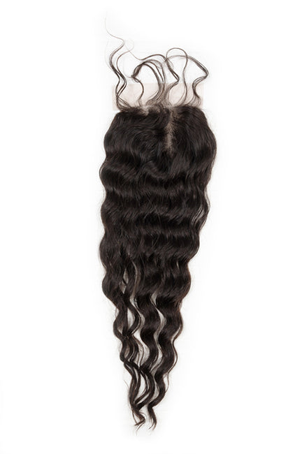Virgin Indian Deep Wave Lace Closure - True Glory Hair