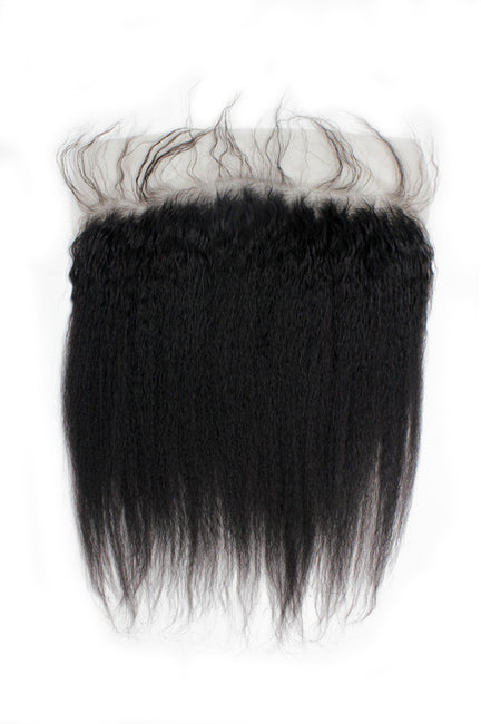 Virgin Brazilian Kinky Straight Lace Frontal - True Glory Hair