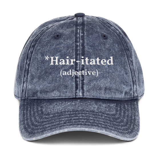 Hair-itated Vintage Cap - True Glory Hair