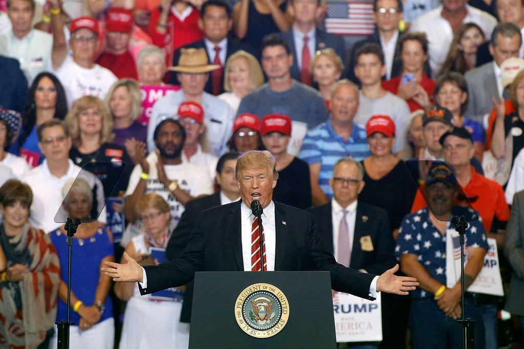 Trump returns to Phoenix for re-election rally