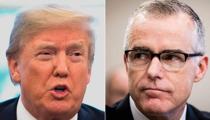 Trump On Ex-Acting FBI Director Andrew McCabe's '60 Minutes' Interview