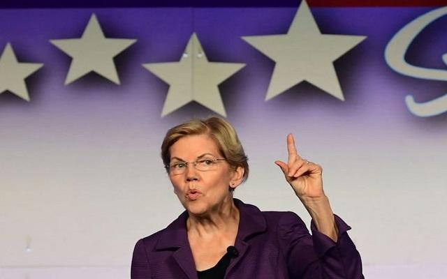 Elizabeth Warren Caught Lying Red-Handed Again (Pun Intended)