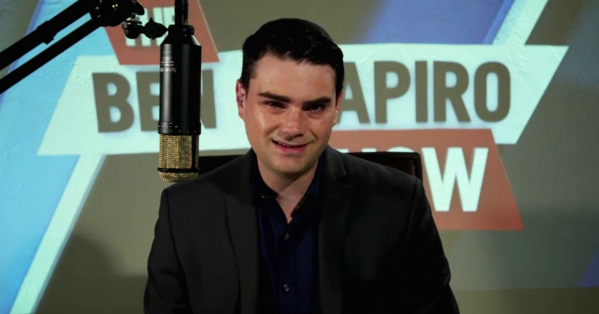 Fake Conservative Shapiro Exposed To The Last Of His Fans By A Series Of Awful Takes
