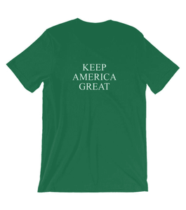 St Patrick's Day Keep America Great Unisex T-Shirt