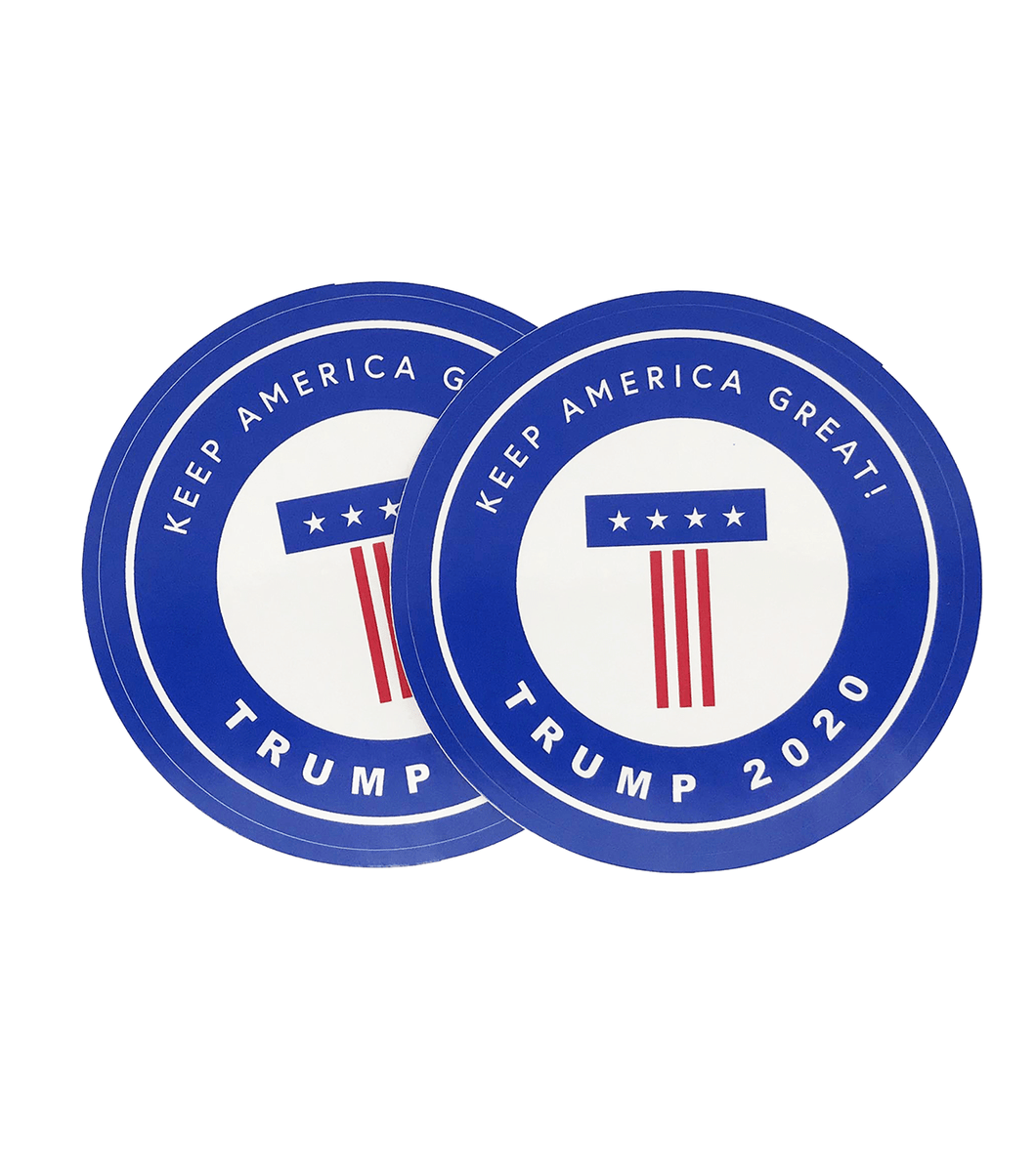 Keep America Great 2020 Sticker Decal 2-Pack