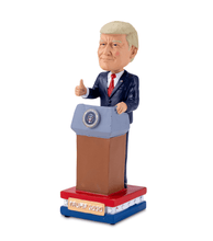 Load image into Gallery viewer, President Donald J. Trump Collectible Talking Bobblehead