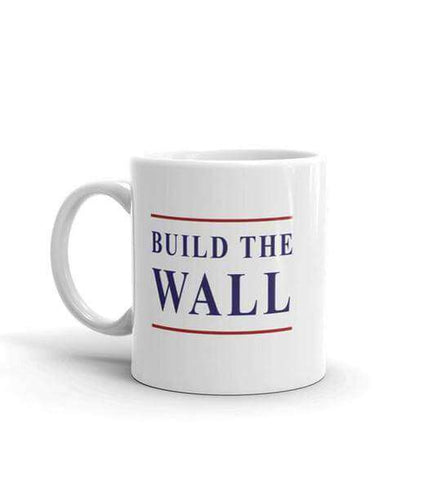 Build The Wall Coffee Mug