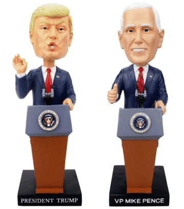 Special Edition Trump & Pence Bobblehead Set