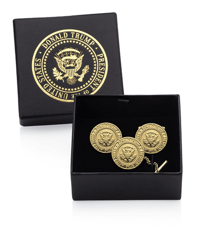 Donald J. Trump Signature Gold Cufflink Set