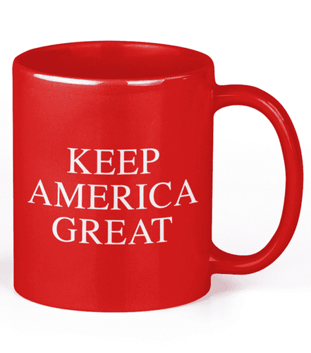 Keep America Great Red Coffee Mug