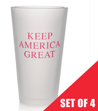 Keep America Great Pint Glasses (Set of 4)