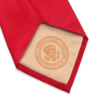 Load image into Gallery viewer, Donald J. Trump Signature Red Neck Tie