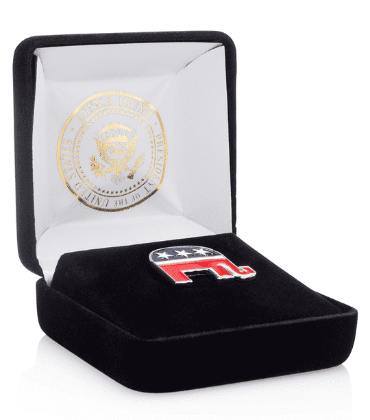 FREE Republican Party Logo Lapel Pin
