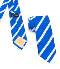 Load image into Gallery viewer, Donald J. Trump Signature Blue Striped Neck Tie
