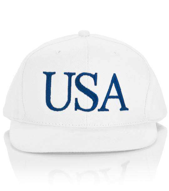 President Trump White USA Hat