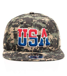 USA Military Camouflage Baseball Cap