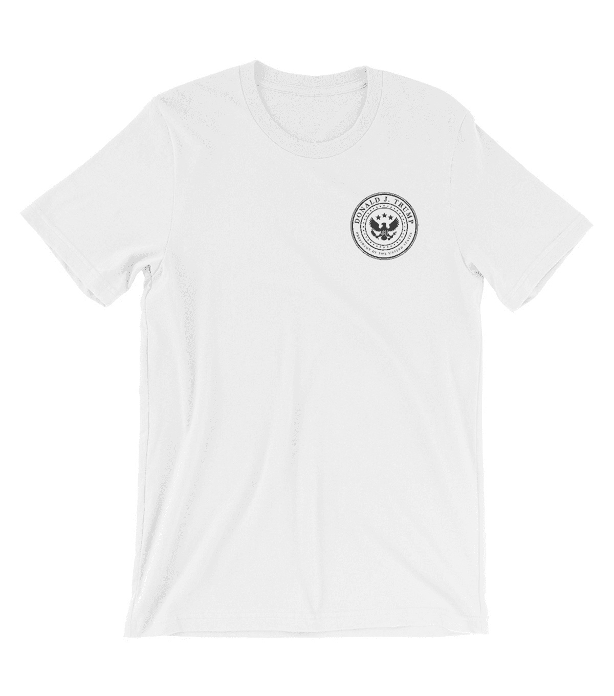 White & Black Presidential T-Shirt