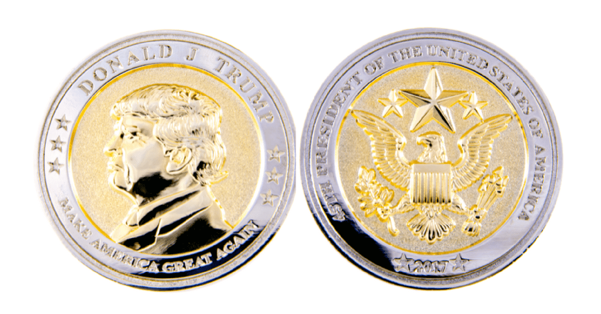 President Donald J. Trump Commemorative Coin