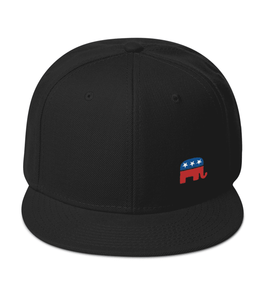 Black Republican Elephant Hat