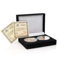 Load image into Gallery viewer, President Donald J. Trump 24k Gold Coin Set