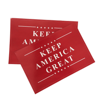 Load image into Gallery viewer, Keep America Great Red Sticker Decal 2-Pack