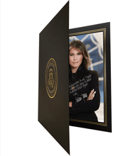Load image into Gallery viewer, Melania Trump Custom Personalized Signature Portrait